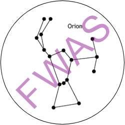Constellation Identification Achievement Button