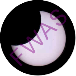 Partial Solar Eclipse Observation Button