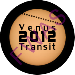 Transit of Venus 2012 Achievement Button (Special Edition button only awarded for observing the June 5th, 2012 transit - no longer available)